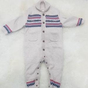 Gap baby overall nody suit.